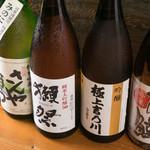 魚菜家 宇豆真季 - 日本酒