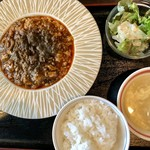 93541414 - 四川麻婆豆腐定食930円