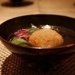 kiwa - 蓮根饅頭の椀物