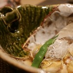 kiwa - 子持ち鮎のおろし煮