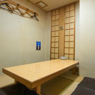 【お座敷個室完備】暖簾をくぐると広がる和みの美食空間。