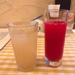 アンジェ - 自家製ジンジャーエール&シチリア産ブラッドオレンジジュース