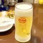 おJi~ - オリオンドラフト生ビール 500円