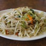 餃子の砂子 - 野菜炒め