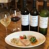バダローネ - ドリンク写真:花巻 高橋葡萄園・エーデルワイン等 地元のワイン。