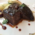 ル ムロン デ オワゾ - 料理写真:倉石牛 頬肉の赤ワイン煮