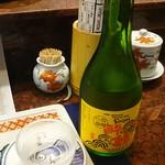 おらんく家 - 酔鯨冷酒 800円