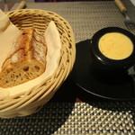 シェ オリビエ - パンとバター