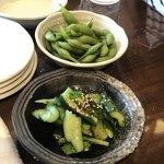 大黒 - 枝豆、たたき胡瓜