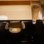松見坂 小林 - 柿とイチジクの白和え