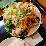 酒蔵 ゴエモン - 油淋鶏定食