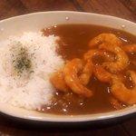 あけび屋珈琲 - 料理写真:海鮮カレー(エビ)