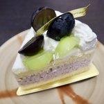 アンリ・シャルパンティエ - ザ・ショートケーキ(2種のぶどう)