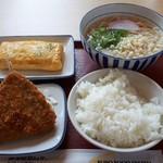 神戸長田食堂 - 料理写真:うどん定食