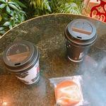 トリバコーヒー - テイスティングコーヒー×2(各100円)とたいよう(200円)