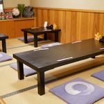 鰻 むさし乃 - ☆座敷席の雰囲気(*^_^*)☆