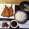 四季の味 亀谷 - 料理写真:アジフライ定食 650円(税込)(2018年9月26日撮影)