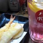 魚椿 - 天ぷら盛り合わせ