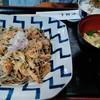 山帰来 - 料理写真:おすすめランチ(ミニ昼膳)の海老おろし蕎麦