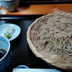 93559789 - 笊蕎麦も極細十割 北海道キタワセ夏新蕎麦と29年常陸秋蕎麦の混合