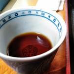山帰来 - 辛汁は塩味・甘味ともに控えめ 本枯節の旨味
