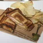 マウナケア - ハムとチーズのホットサンド