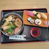 冨士屋 うどん・そば・食事処 - 料理写真:かやくうどん定食