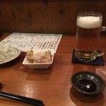 つむぎ - とり生ビール