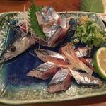 つむぎ - 秋刀魚刺身
