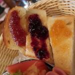 てらにし珈琲本店 - 3色トースト