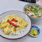 小藤食堂 - 料理写真:うな丼セット  うどんかそばを選べます