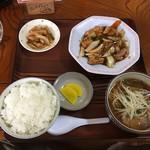 秀蘭 - 料理写真:日替わりメニュー(水曜日)