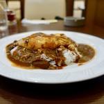 MON - 料理写真:[2018/08]フライドエッグカレー単品・中辛(650円)