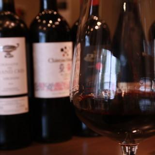 ソムリエ厳選!お肉に合うワインをリーズナブルに。