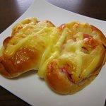 パリクロアッサン - 料理写真:ゴーダチーズベーコン