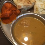 New Delhi Spice - バターチキンカレーとチキンカレー