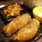 ニシキ イワモト・マツヤマ・ラーメンバー - ちょい呑み・鶏皮餃子