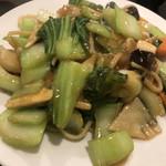 龍門 - 野菜一杯あんかけ焼きそば