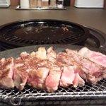 鉄板焼肉 誠屋 - 上ロース