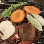 炭火焼肉しんき -
