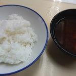 93583434 - ご飯と味噌汁