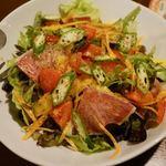 牛タン 夏火鉢 - グリーンサラダ 750円