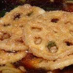 麺や村里木 - レンコン