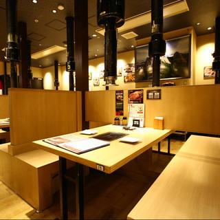 グランフロント大阪で焼肉宴会を!
