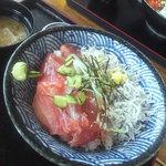 9359018 - 鮪シラス丼(1,100円)