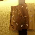 ラーメン家 みつ葉 - 師匠から戴いた掛け時計