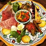 93591263 - ANTIPASTO FREDO 本日のパドリーノおすすめ前菜盛合せ
