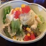 あきよし - 「ポテトサラダ」380円也。