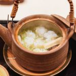 ぎをん 福志 - 鱧と松茸の土瓶蒸し