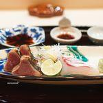 ぎをん 福志 - 鰹のたたき 明石の鯛